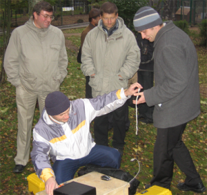 Geophysical instruments testing