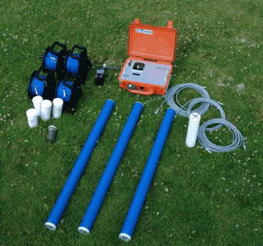 Аппаратура для магнитотеллурических зондирований МТЗ Metronix