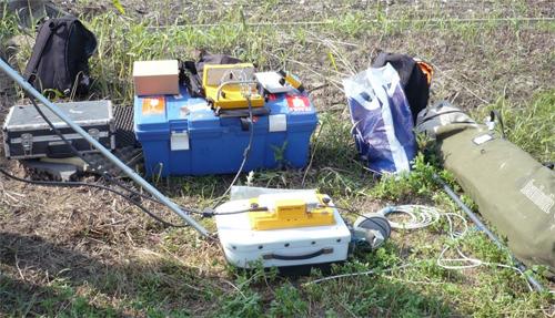Комплект полевой геофизической аппаратуры