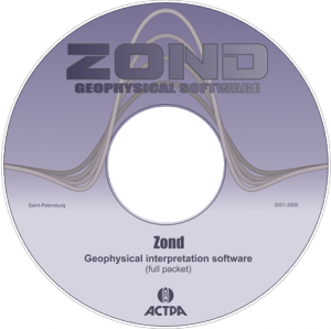DVD of Zond software
